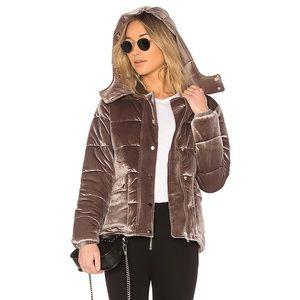 Lovers & Friends x Revolve Hooded Puffer Jacket